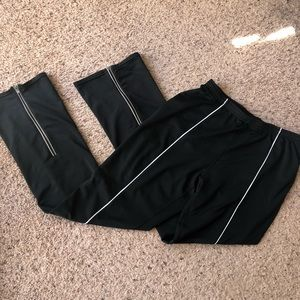 Nike dri-fit black jogging pants, medium